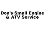 DON'S SMALL ENGINE logo