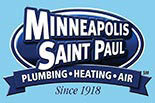 MINNEAPOLIS SAINT PAUL PLUMBING HEATING AIR logo