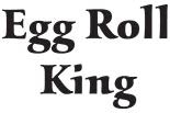 EGG ROLL KING logo