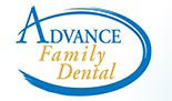 ADVANCE FAMILY DENTAL logo