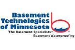 BASEMENT TECHNOLOGIES OF MINNESOTA logo