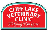 CLIFF LAKE VETERINARY CLINIC logo