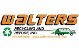 WALTERS RECYCLING & REFUSE logo