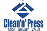 CLEAN N PRESS logo