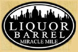 Liquor Barrel Miracle Mile logo