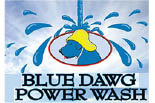 BLUE DAWG POWERWASH logo