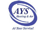 AYS HEATING & AIR logo