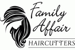 Family Affair Haircutters logo