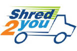 SHRED 2 YOU logo
