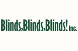 BLINDS, BLINDS, BLINDS! INC. logo