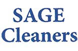 SAGE CLEANERS logo