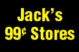 Jack's 99 Cent/Jack's World logo