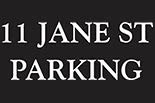 11 JANE ST. PARKING logo