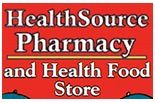 HEALTH SOURCE PHARMACY logo