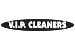 V.I.P. CLEANERS logo