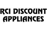 RCI DISCOUNT APPLIANCES logo