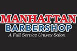MANHATTAN BARBER SHOP logo