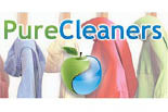 PURE CLEANERS logo