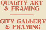 QUALITY ART & FRAMING logo