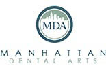 MANHATTAN DENTAL ARTS logo