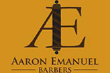 AARON EMANUEL SALON BARBER SHOP logo