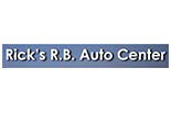 RICK'S RB AUTO CENTER logo