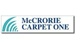 MCCRORIE CARPET ONE logo
