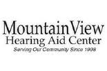 MOUNTAIN VIEW HEARING AID CENTER logo