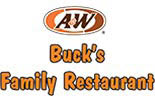 BUCK'S A&W FAMILY RESTAURANT logo