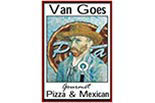 VAN GOES GOURMET PIZZA & MEXICAN plus TAKE-n-BAKE logo
