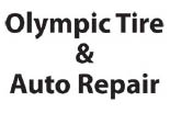 OLYMPIC TIRE & AUTO REPAIR logo