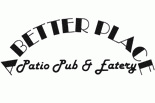 A BETTER PLACE PATIO PUB EATERY logo