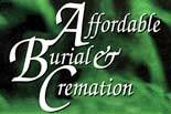 AFFORDABLE BURIAL & CREMATION logo