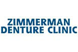 ZIMMERMAN DENTURE CLINIC logo