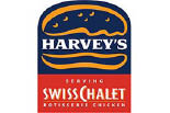 HARVEY'S SERVING SWISS CHALET logo