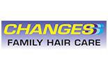 CHANGES FAMILY HAIRCUTTERS logo