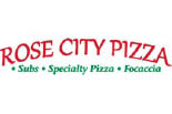 ROSE CITY PIZZA logo