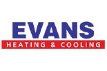 EVANS HEATING AND COOLING logo