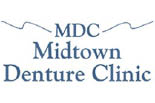 MIDTOWN DENTURE CLINIC logo