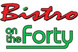 BISTRO ON THE FORTY logo