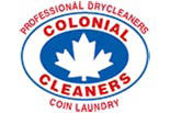 COLONIAL CLEANERS PORT COLBORN logo