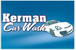 KERMAN CARWASH logo