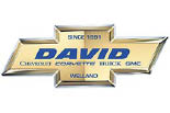 DAVID CHEVROLET CORVETTE BUICK GMC logo