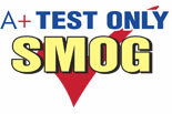 A+ TEST ONLY SMOG logo