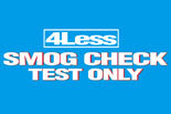 4 LESS SMOG CHECK/BERKELEY logo
