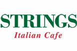 STRINGS ITALIAN CAFE logo