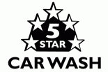 5 Star Car Wash logo