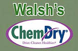WALSH'S CHEM DRY logo