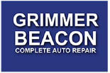 GRIMMER BEACON COMPLETE AUTO REPAIR logo