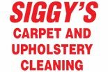 SIGGY'S CARPET CLEANING logo